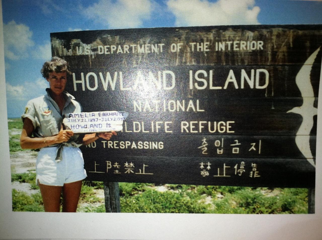 Grace on Howland Island 1986
